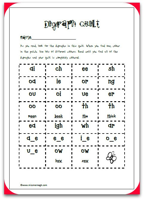 Free Jolly Phonics Printable Missmernagh