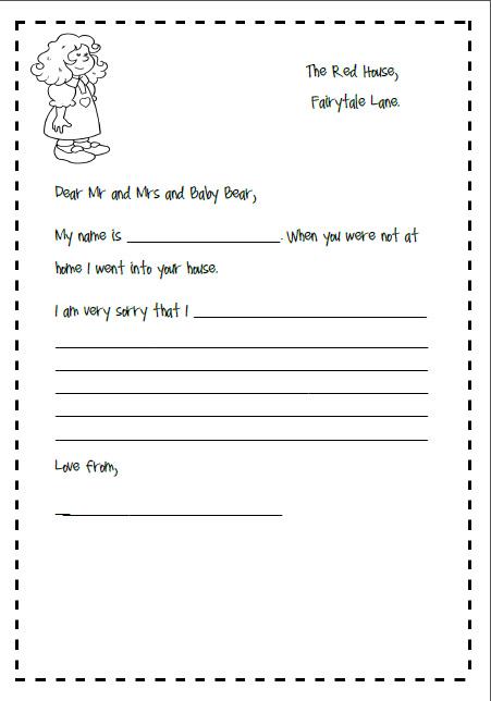 Creative Writing Ideas For Goldilocks amp The 3 Bears Missmernaghcom