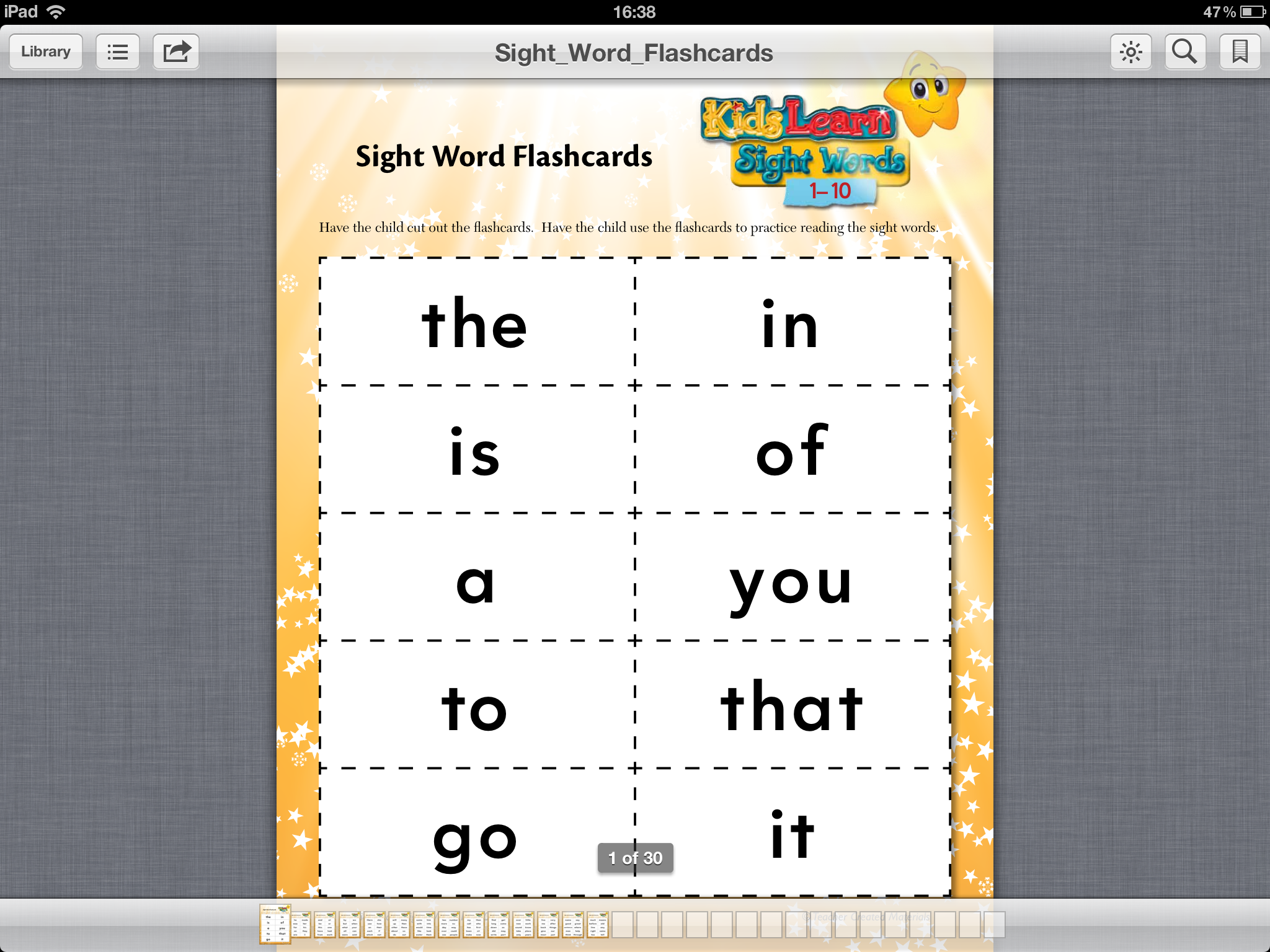 sight Word printable Sight Free  words   free App cards missmernagh.com