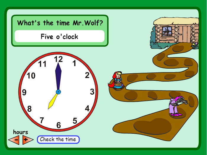 What time is it mr wolf missmernagh com