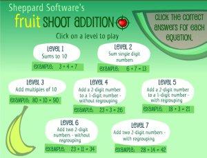 fruit maths 1