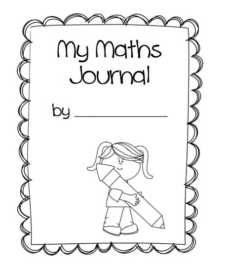 Maths Book Cover Printable : St grade math journal cover missmernagh